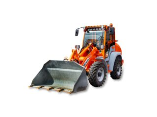 Wiellader 3,7 ton / 0,65 m³