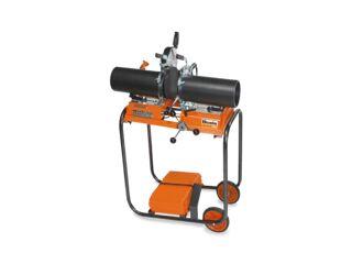 Kunststoff-Stumpfnahtschweißgerät, Ø 40-160 mm